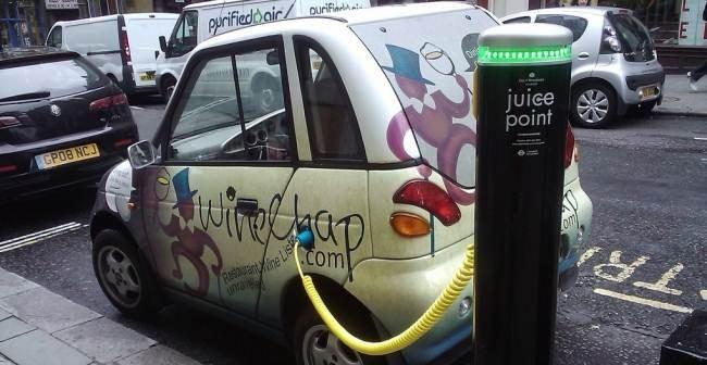 Auto eléctrico de Londres