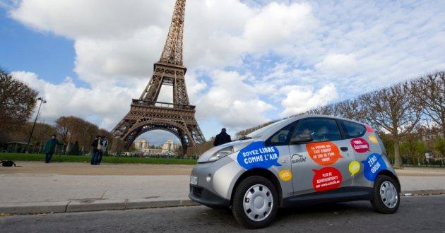 Auto eléctrico de Paris