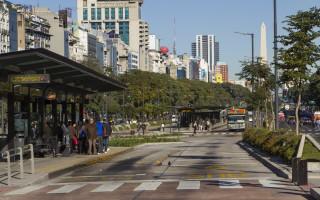 Metrobus 9 de Julio verde