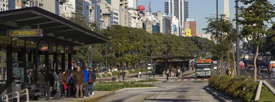 ¡Buenos Aires elegida líder en BRT por C40 este año!