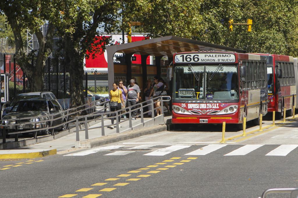 Metrobus Juan B Justo -Pacífico