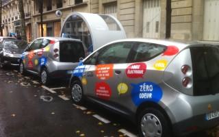 Sistema de autos eléctricos en Paris