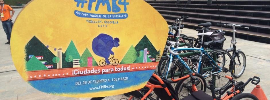 Mi experiencia en el Foro Mundial de la Bici – Medellín 2015