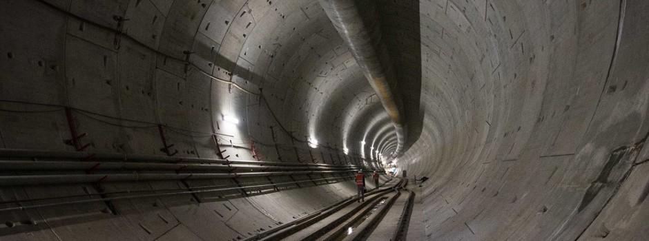 Visitando el soterramiento del Sarmiento con una especialista en túneles