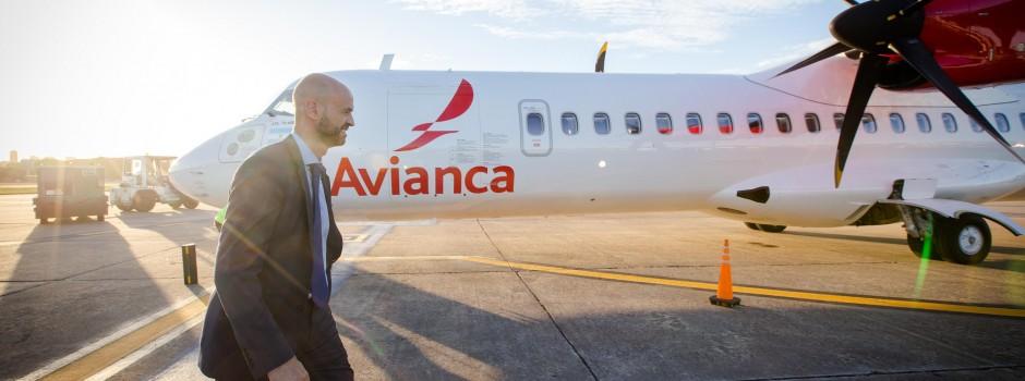 Una nueva línea aérea volando en el país después de mucho tiempo.