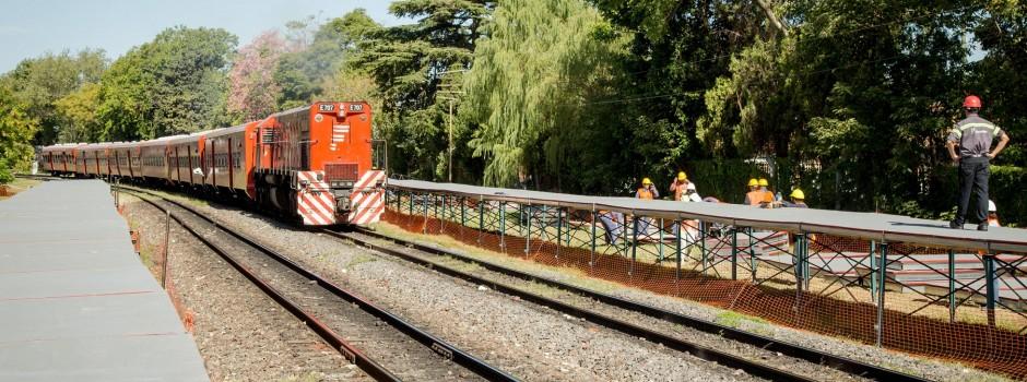 Recuperando el tren Belgrano Norte: 22 estaciones renovadas.