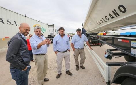En la fábrica de camiones Vulcano
