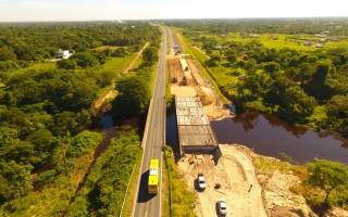 Puente sobre Arroyo San Hilario en Formosa